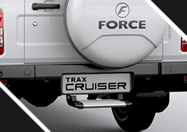 Attractive Rear Bumper with Parking Sensors for multi purpose utility vehicle