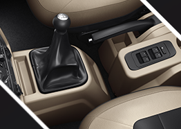 Attractive Center Console for best muv in india
