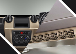 10 seaterMUV Car with  Powerful Dual Air Conditioning (Optional)
