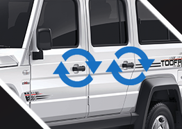Pull Type Door Handles and Latches - best muv car in India