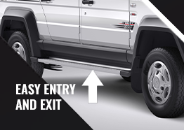 Easy Entry and Exit for Best staff transport